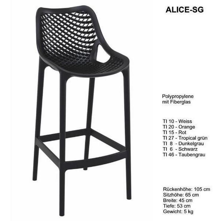 Bild 4: Designer Tresenhocker ALICE-SG