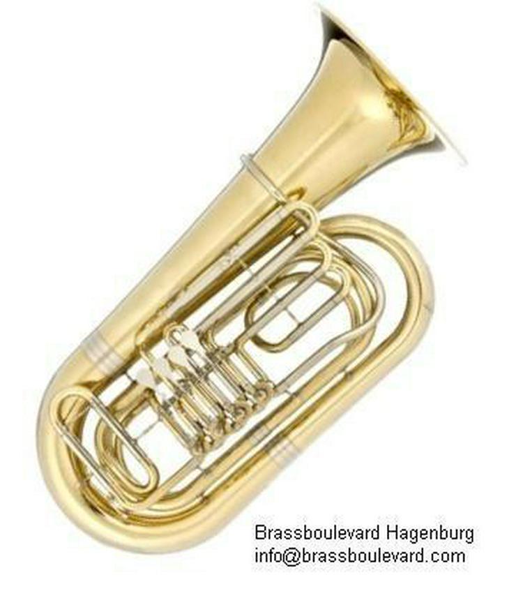 Besson BBb - Tuba mit 4 Zylinder - Drehventilen - Blasinstrumente - Bild 1