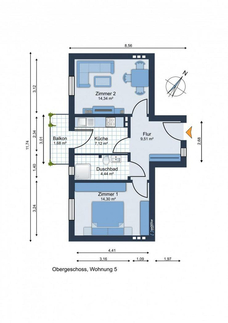 Bild 3: Kapitalanleger! Eimsbüttel! 2 Zimmer Wohnung im wunderschönen Jugendstil-Stadthaus in be...