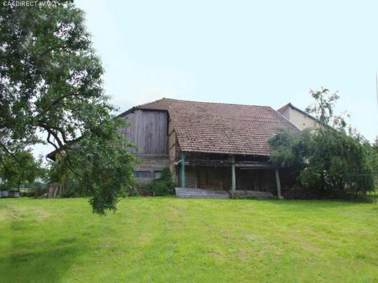Bild 3: Bauernhaus im Dorfkern mit Nebengebäude u. Umschwung im Elsass - 18 km v/Basel 20 km v/We...