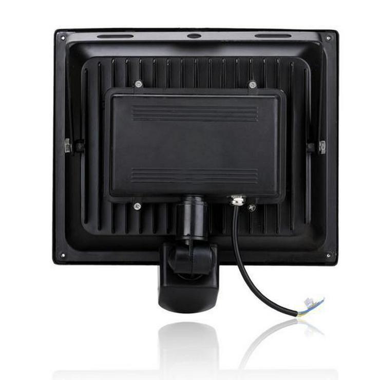 Bild 3: LED Strahler 50 Watt mit Bewegungsmelder für