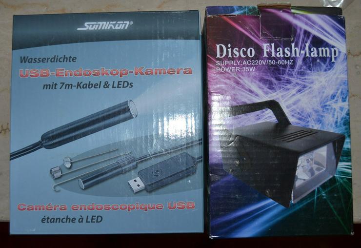Disco Flash Lampe neu OVP 220 V 35 W