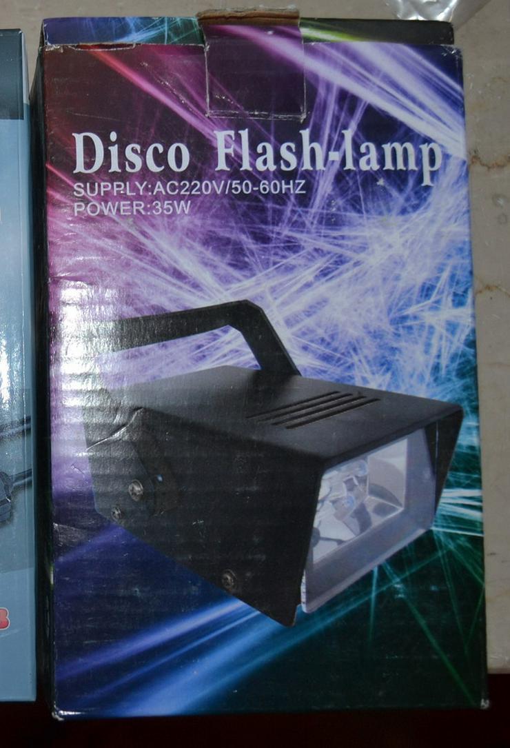 Bild 3: Disco Flash Lampe neu OVP 220 V 35 W
