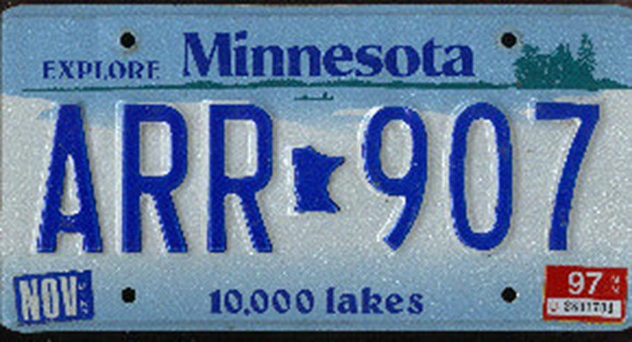 Bild 6: US Autokennzeichen alle 50 staaten ab 10 EUR