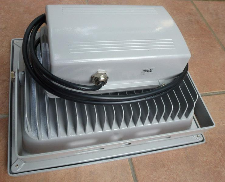 Bild 2: LED 50W Außen und Innen