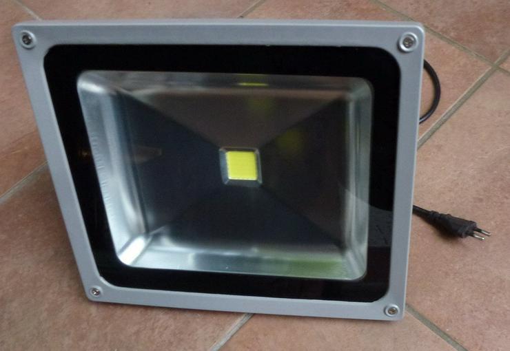 Bild 3: LED 50W Außen und Innen