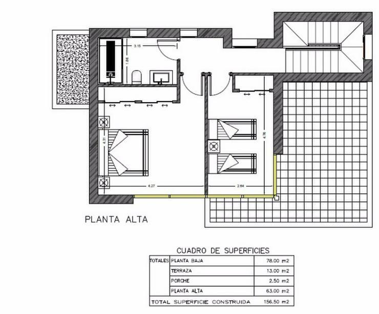 Bild 9: **Lebe deinen Traum** GRUNDSTUECK IN SAN JOAN, z.B. 143,5 m² Einfamilienhaus mit Pool
