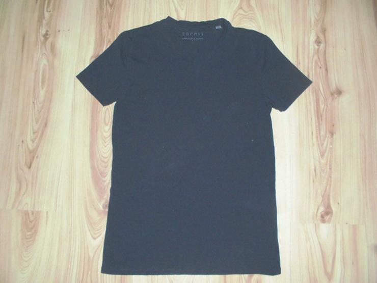 Schwarzes Esprit Basic Herren T-Shirt Größe S