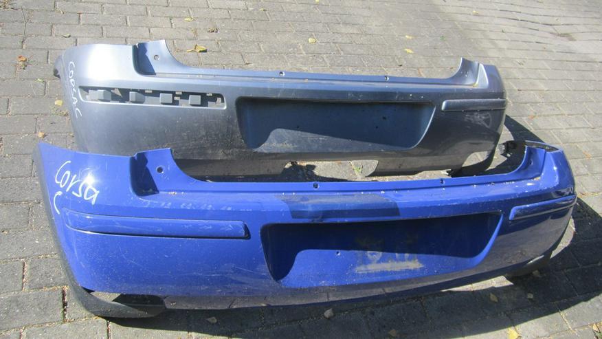 Corsa C Kotflügel / Stosstangen hinten