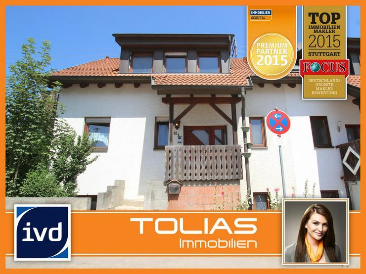 Wohlfühlen garantiert - attraktive Doppelhaushälfte mit Doppelgarage in zentrumsnaher La... - Haus kaufen - Bild 1