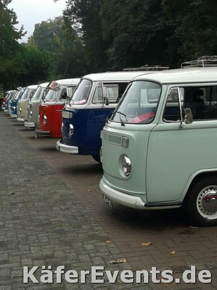 Bild 2: Oldtimer Bulli Mieten VW T1 Bus T2 Hochzeit