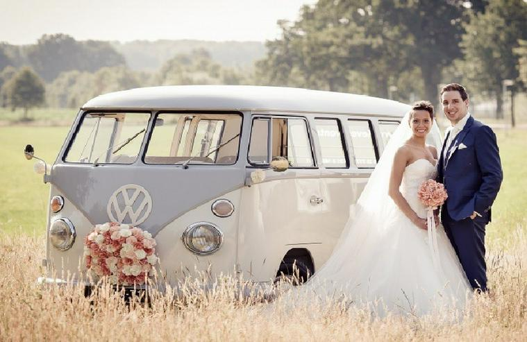 Oldtimer Bulli Mieten VW T1 Bus T2 Hochzeit