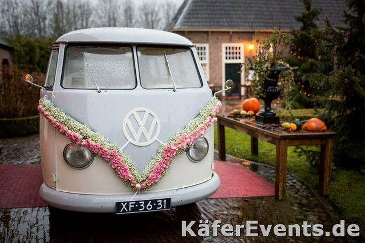 Bild 4: Oldtimer Bulli Mieten VW T1 Bus T2 Hochzeit
