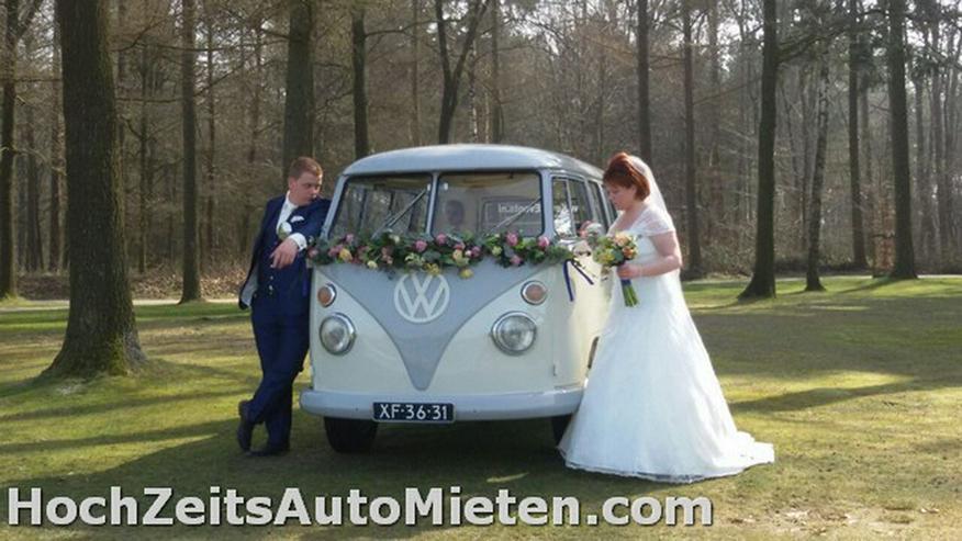 Bild 5: Oldtimer Bulli Mieten VW T1 Bus T2 Hochzeit