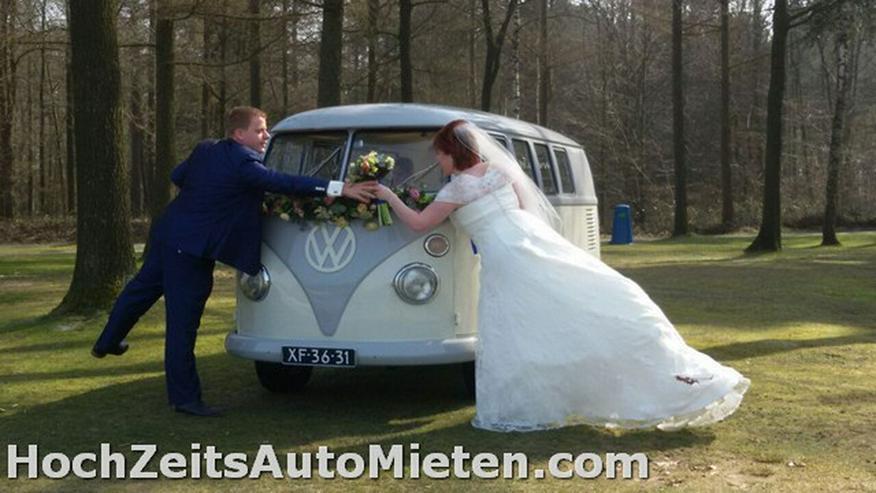 Bild 6: Oldtimer Bulli Mieten VW T1 Bus T2 Hochzeit