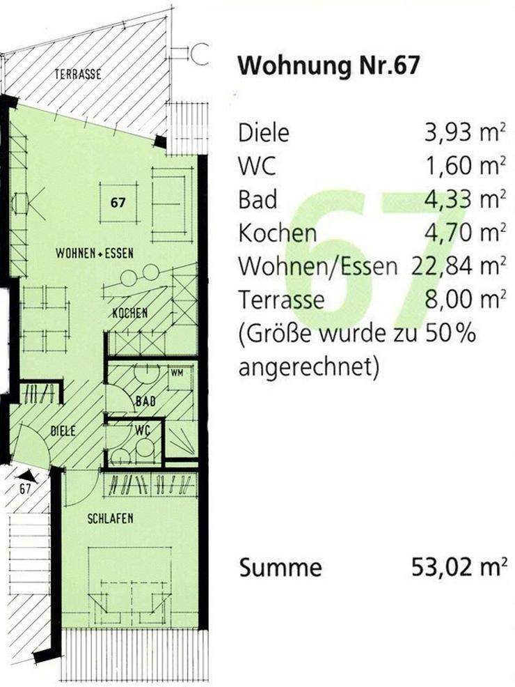 Bild 10: Provisionsfrei von Privat - 2 Zimmer Wohnung in Zentraler Lage