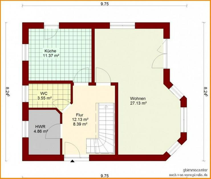 Bild 4: Wunschhaus BAUEN mit GELASSENHEIT + HUMOR und das im GRÜNEN