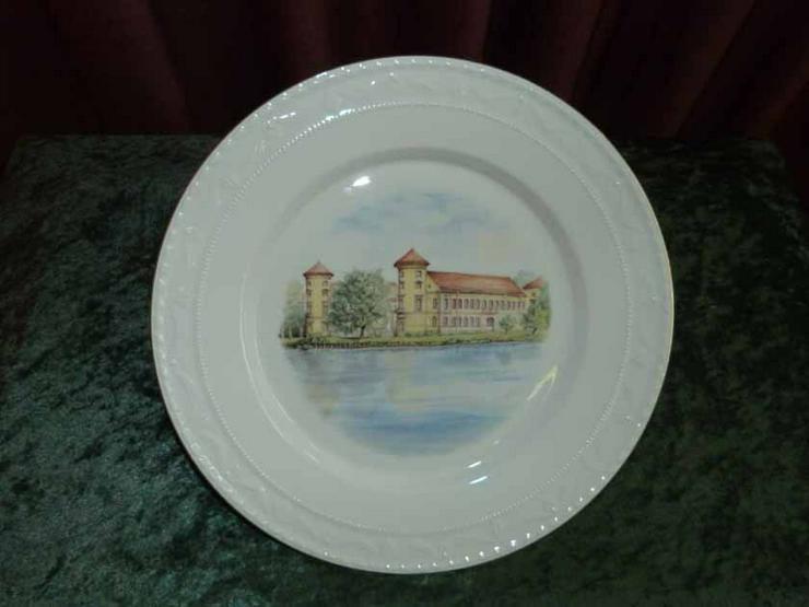 KPM Porzellan Teller / Wandteller Schloss Bran