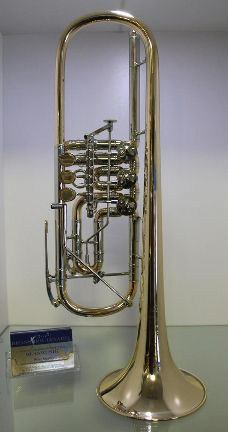 Scherzer Profiklasse Konzert - Trompete 8218 W - Blasinstrumente - Bild 1