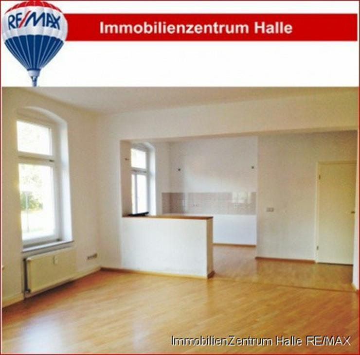 Schick !!! Helle 1-Raumwohnung (ca. 49m²) mit offener Küche und Duschbad in südlicher I...