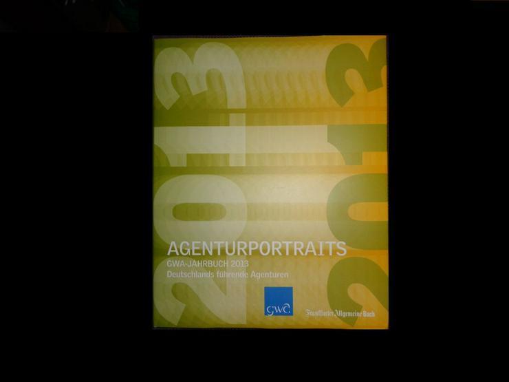 Agenturportraits: GWA-Jahrbuch 2013 - Finanzen, Wirtschaft & Recht - Bild 1
