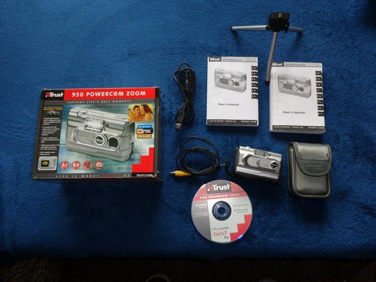 Digitalkamera Trust 950 Powercam Zoom OVP