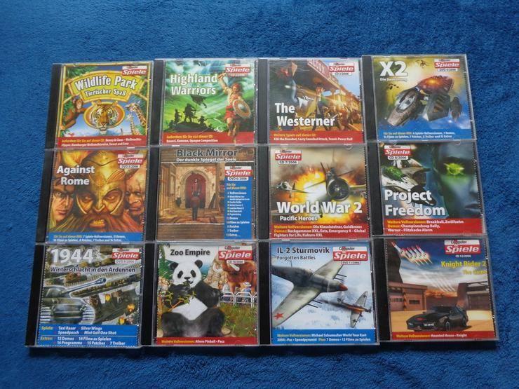 Bild 5: Computerbildspiele CD Sammlung 2002 - 2006