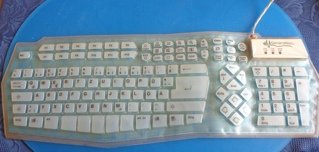 Rollbare wasserfeste Tastatur - Tastaturen & Mäuse - Bild 1