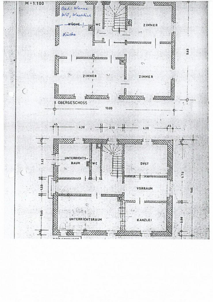 Bild 7: ++Gengenbach++Einfamilienhaus,  denkmalgeschützt direkt an der Bahnlinie mit 555 m² Grun...