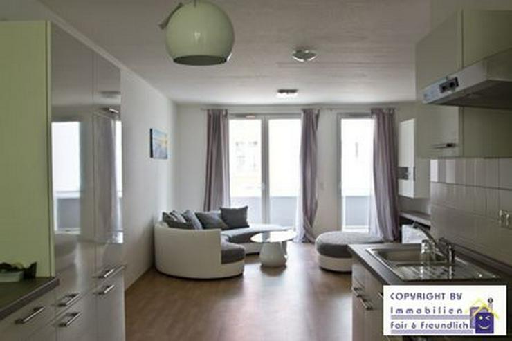 Bild 6: *ERSTBEZUG! Moderne 3-Zi.-Whg. gr. Wohnraum, Sonnenbalkon u. offener Küche, D-Rath*