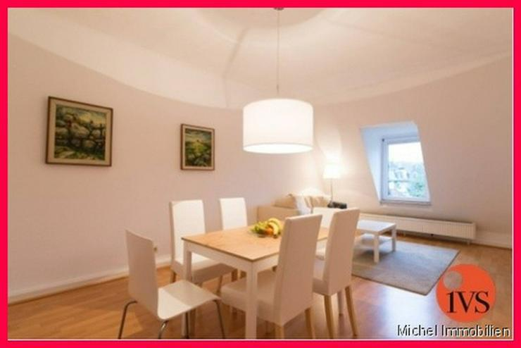 Bild 2: ** Am Jubiläumspark ** Attraktives, voll möbliertes Apartment im Dachgeschoss für max. ...