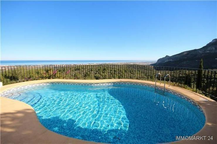 Bild 2: Villa mit Gästewohnung, Pool, traumhaftem Garten und Meerblick am Monte Pego