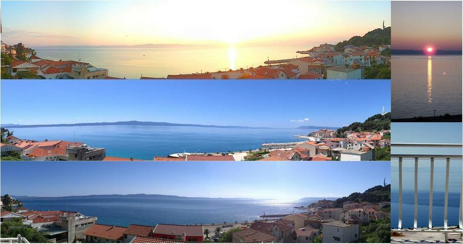 Kroatien-Makarska Riviera-Podgora-FeWo MARINA 3