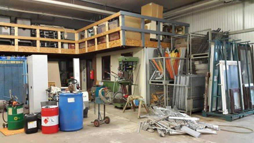 Bild 3: Gut isolierte Lager und Produktionshalle Halle im Gewerbegebiet
