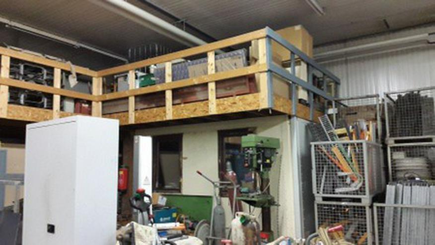 Bild 5: Gut isolierte Lager und Produktionshalle Halle im Gewerbegebiet