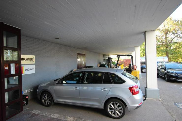 Bild 6: Provisionsfrei: Lagerraum mit überdachter Freifläche und Büro - ebenerdige Anlieferung ...