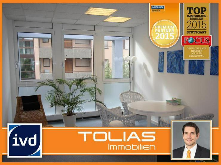 Moderne Büro-/ Praxisflächen mitten in Feuerbach - Ärzte willkommen. 2 Stellplätze, Au... - Gewerbeimmobilie mieten - Bild 1