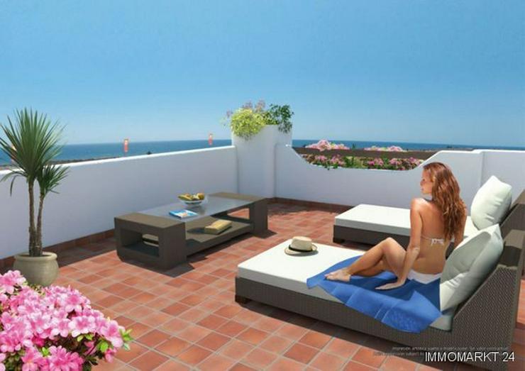 Penthouse-Wohnungen mit 2 Schlafzimmern nur 400 m vom Strand - Bild 1
