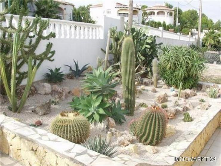 Bild 4: Gepflegte Villa mit Pool und traumhafter Fernsicht auf das Meer bis hin nach Ibiza