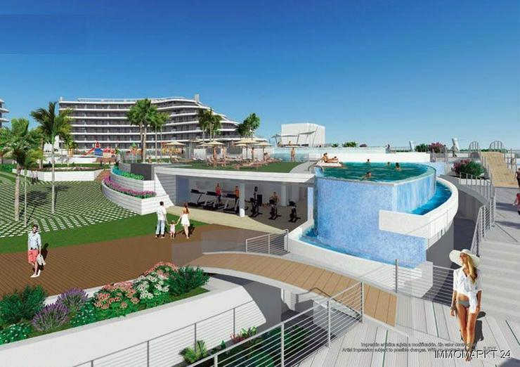 Bild 2: 4-Zimmer-Penthouse-Wohnungen mit atemberaubendem Meerblick nur 250 m vom Strand