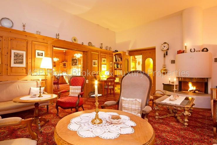 Bild 6: Preissenkung! Luxuriöses Parkhotel mit 10.000 qm bebaubarem Kurpark im Engadin in Bestlag...