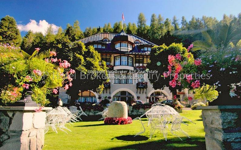 Bild 3: Preissenkung! Luxuriöses Parkhotel mit 10.000 qm bebaubarem Kurpark im Engadin in Bestlag...