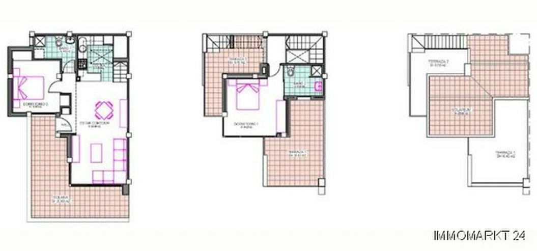 Bild 6: Moderne 2-Schlafzimmer-Quattrohäuser in abgeschlossener Anlage