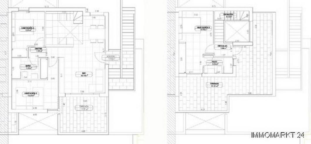 Bild 6: Exklusive 3-Schlafzimmer-Maisonette-Wohnungen in sehr schöner Golfanlage