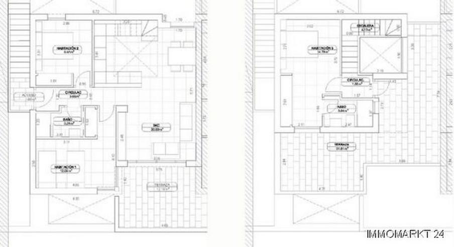 Bild 5: Exklusive 3-Schlafzimmer-Maisonette-Wohnungen in sehr schöner Golfanlage