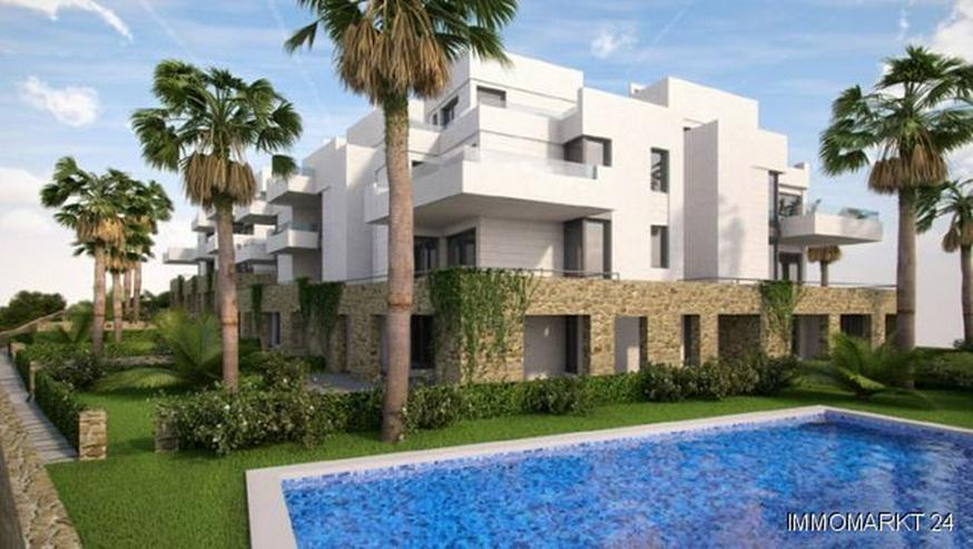 Exklusive 3-Schlafzimmer-Maisonette-Wohnungen in sehr schöner Golfanlage - Wohnung kaufen - Bild 1