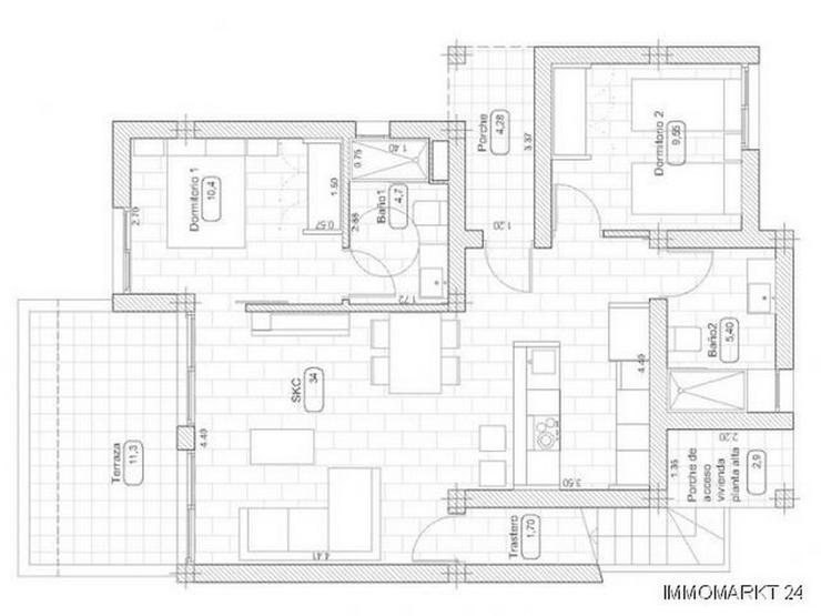 Bild 6: Neubau - Appartements mit Gemeinschaftspool am Golfplatz