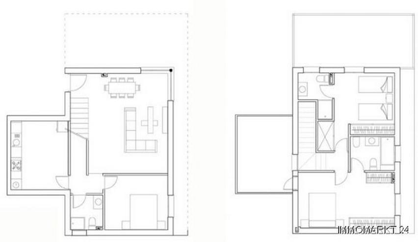 Bild 6: Moderne Neubau-Villen ca. 2,5 km vom Strand