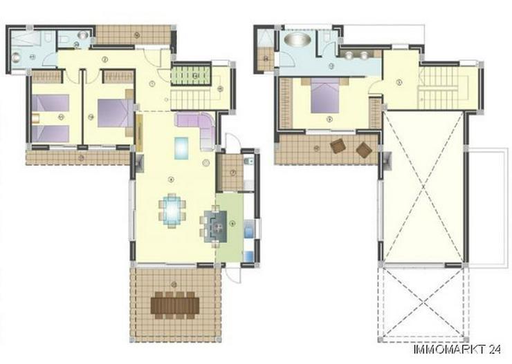 Bild 2: Moderne 3-Schlafzimmer-Villen mit Gemeinschaftspool