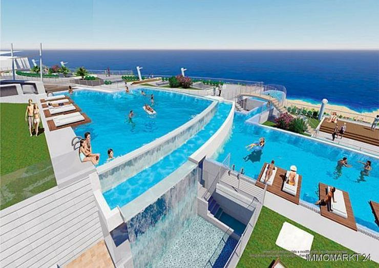 3-Zimmer-Wohnungen mit atemberaubendem Meerblick nur 250 m vom Strand - Wohnung kaufen - Bild 1